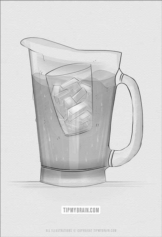 keep beverage pitcher cool